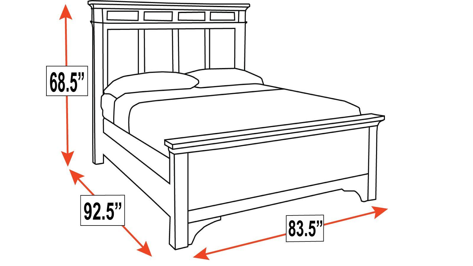 Hidalgo King Bed, , hi-res