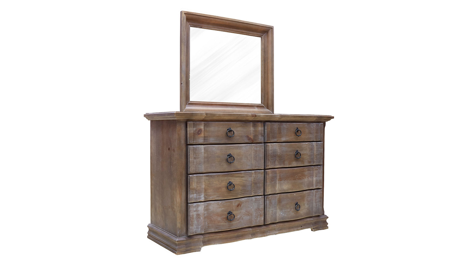 Rustic Hill Dresser and Mirror, , hi-res