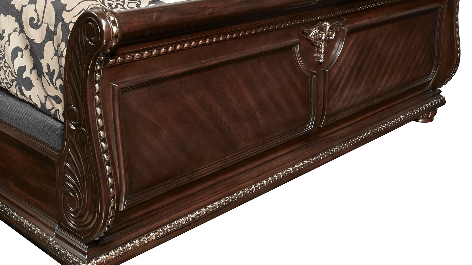 Import Stanley Cherry King Bed, , hi-res
