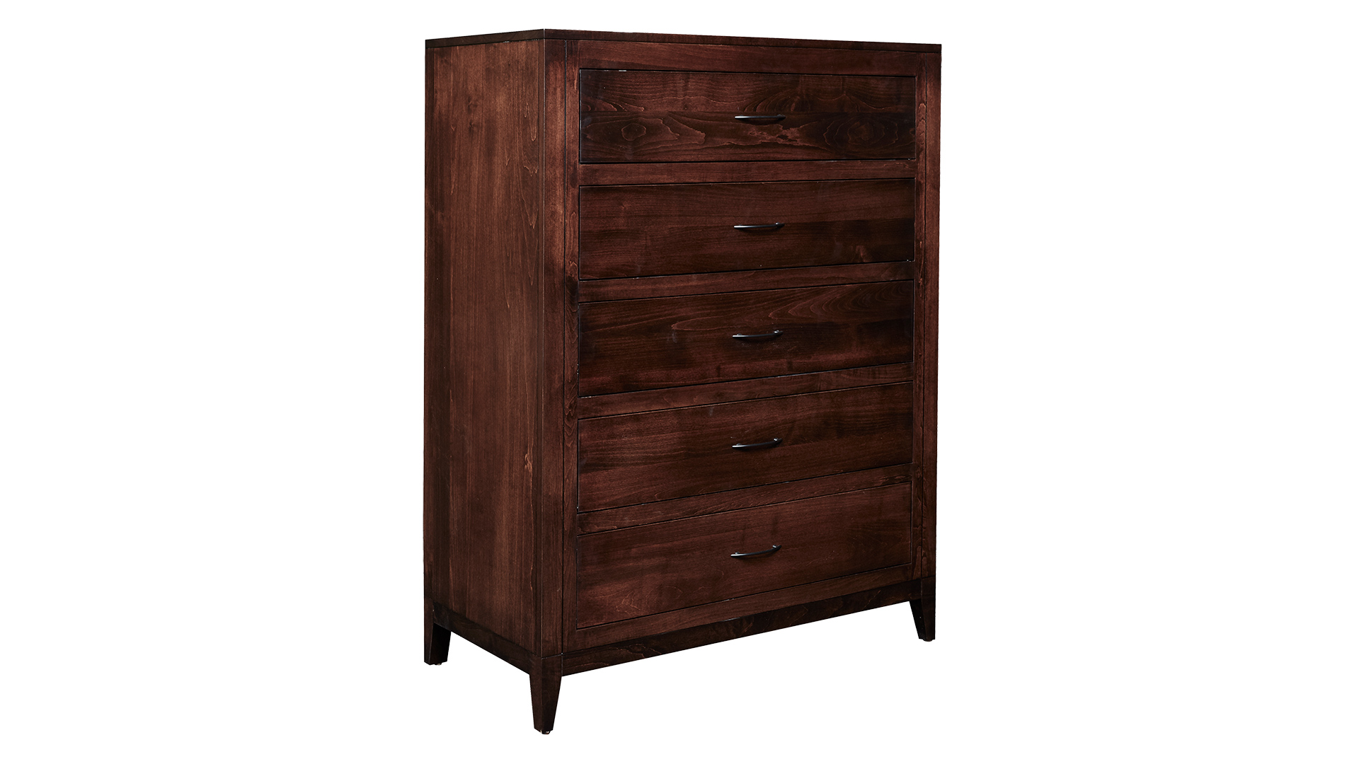 Modern Cherry Tall Chest, , hi-res