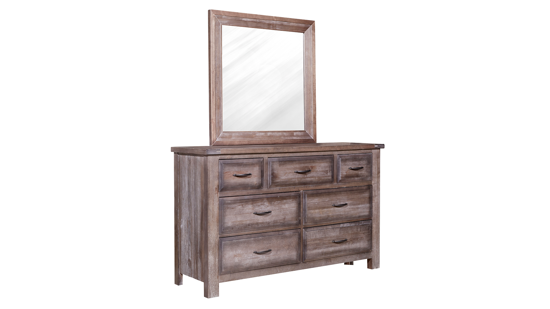 Maple Road Syrup Dresser and Mirror, , hi-res