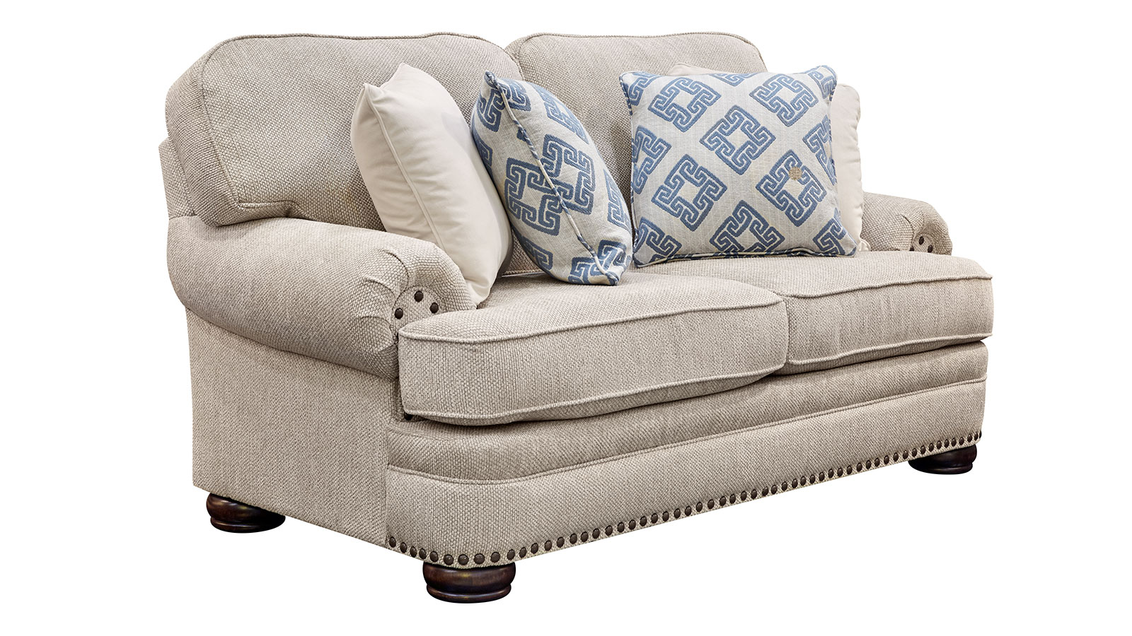 Degorgeous Ivory Loveseat, , hi-res