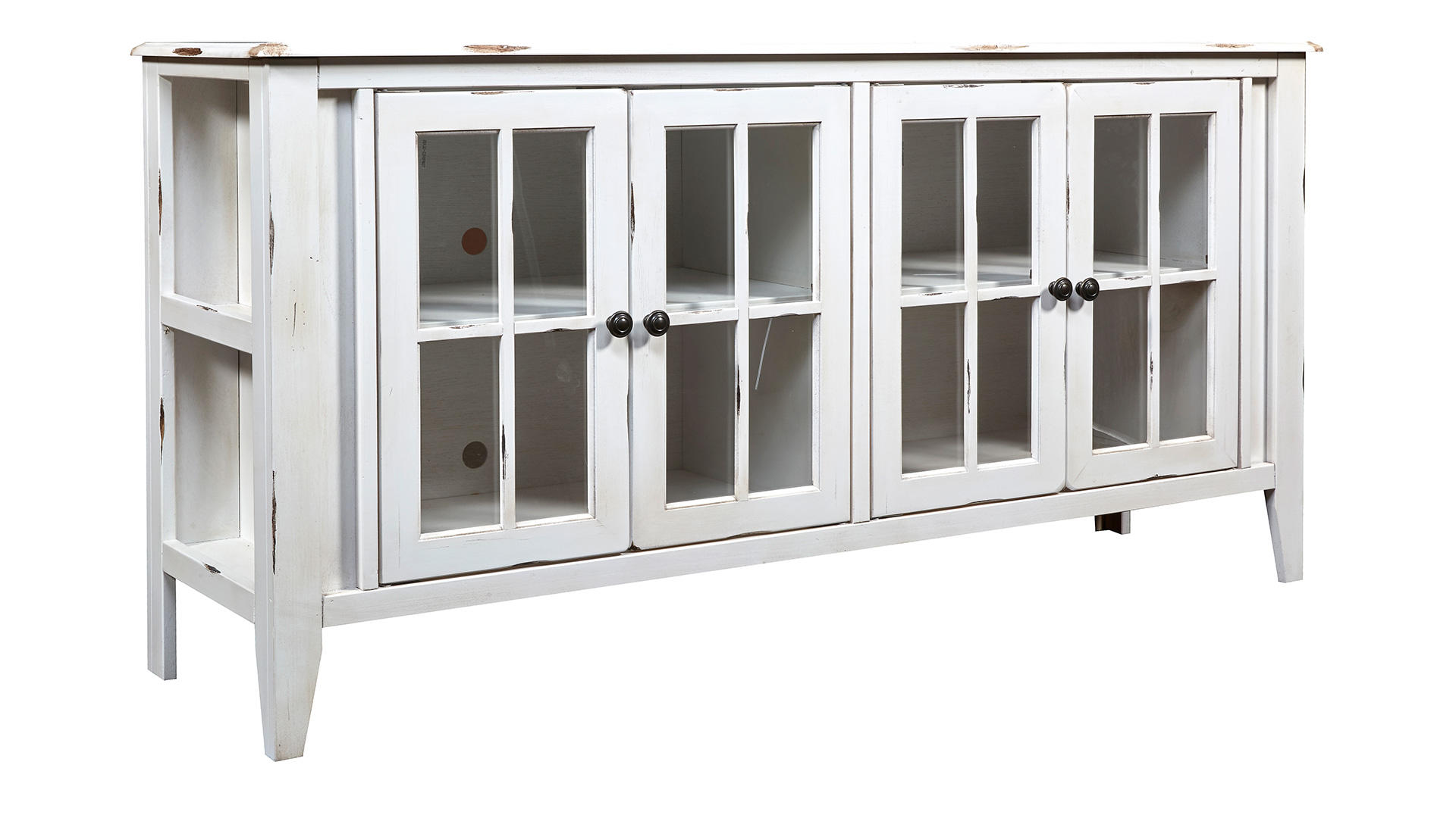 "Calistoga Rustic White 64"" TV Stand, , hi-res"