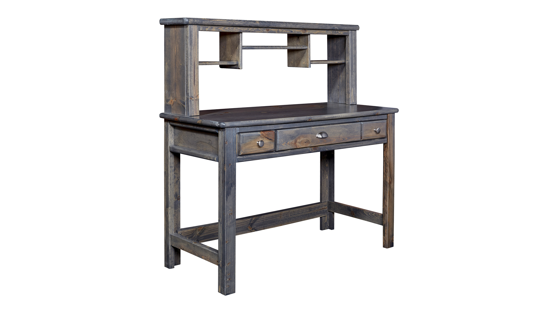 Turkey Creek Rustic Gray 2-Pc. Desk and Hutch, , hi-res