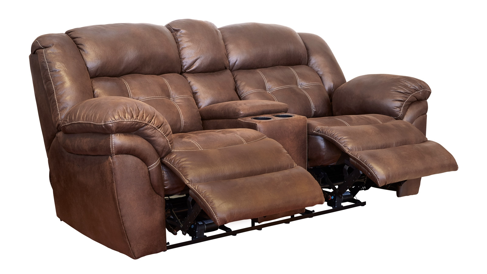 Marcelina Espresso Power Reclining Loveseat, , hi-res