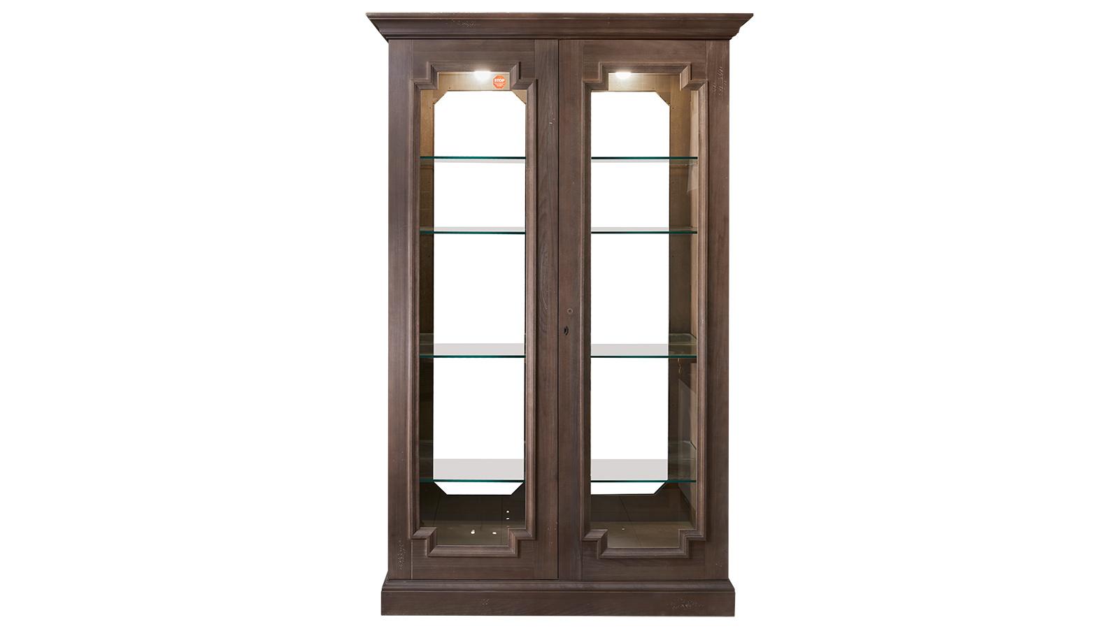 Desmond Auburn Curio Cabinet