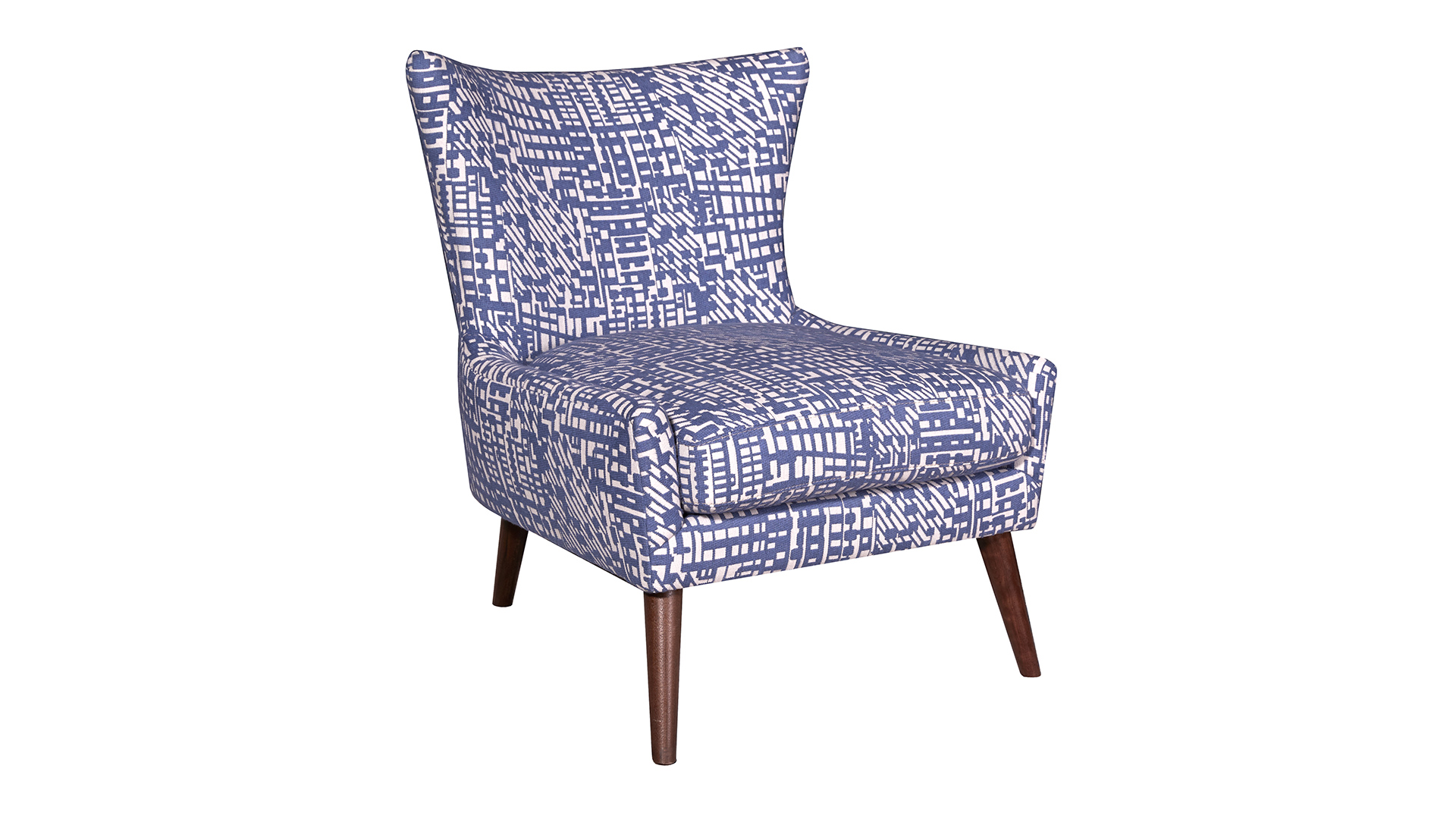 Mike Royal Blue Accent Chair, , hi-res