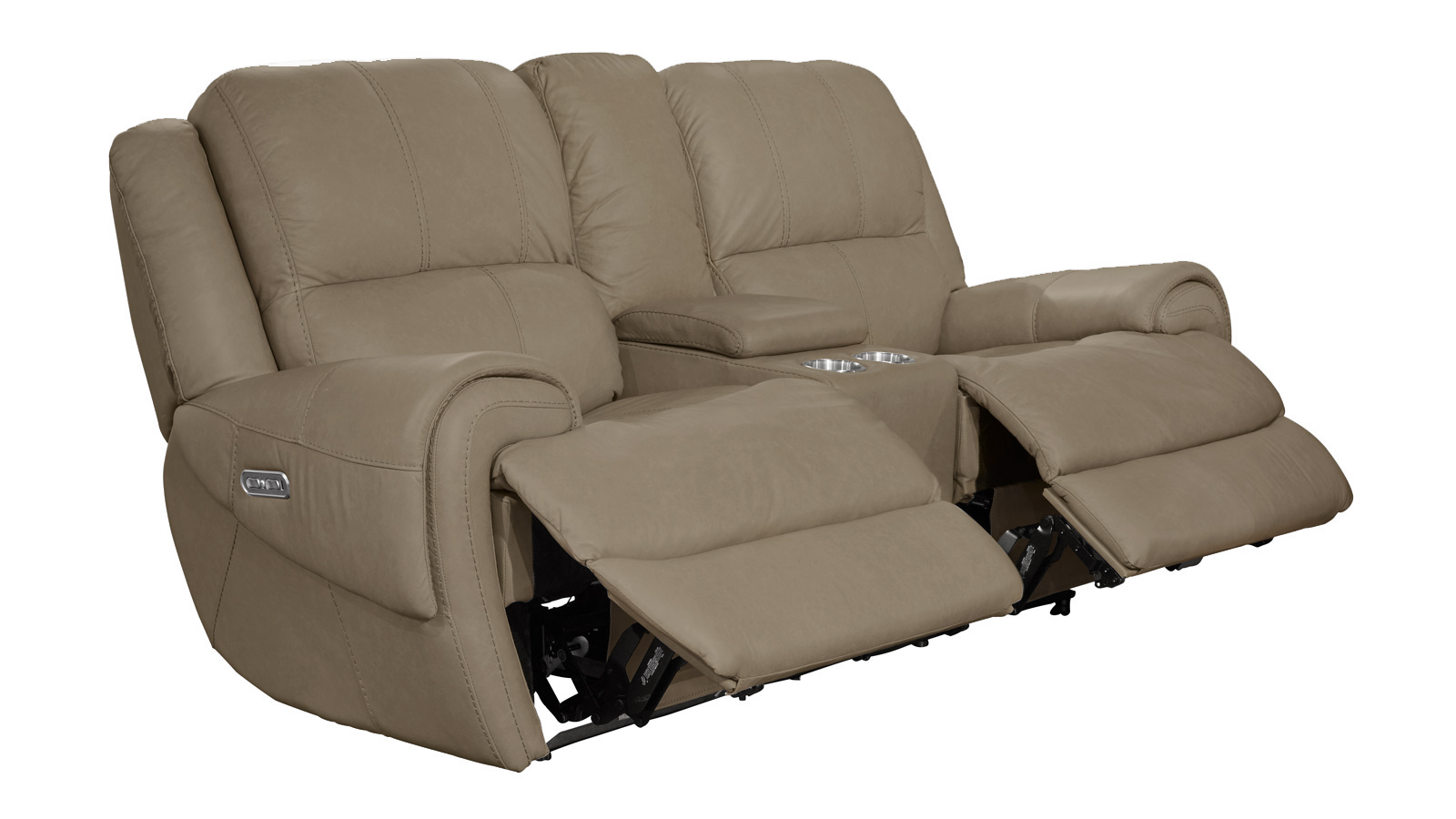 Remarkable American Power Reclining Loveseat W Console Caraccident5 Cool Chair Designs And Ideas Caraccident5Info