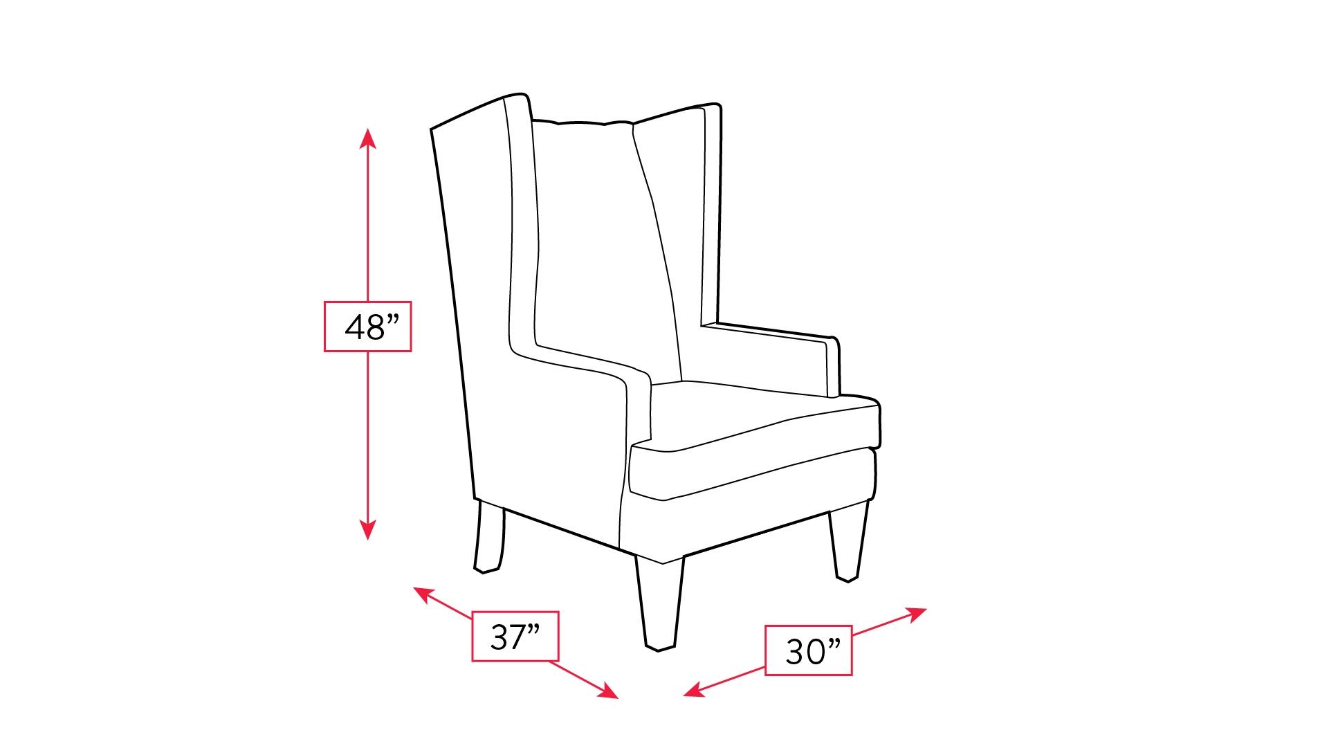 Roosevelt Estate Virgo Teal Accent Chair, , hi-res