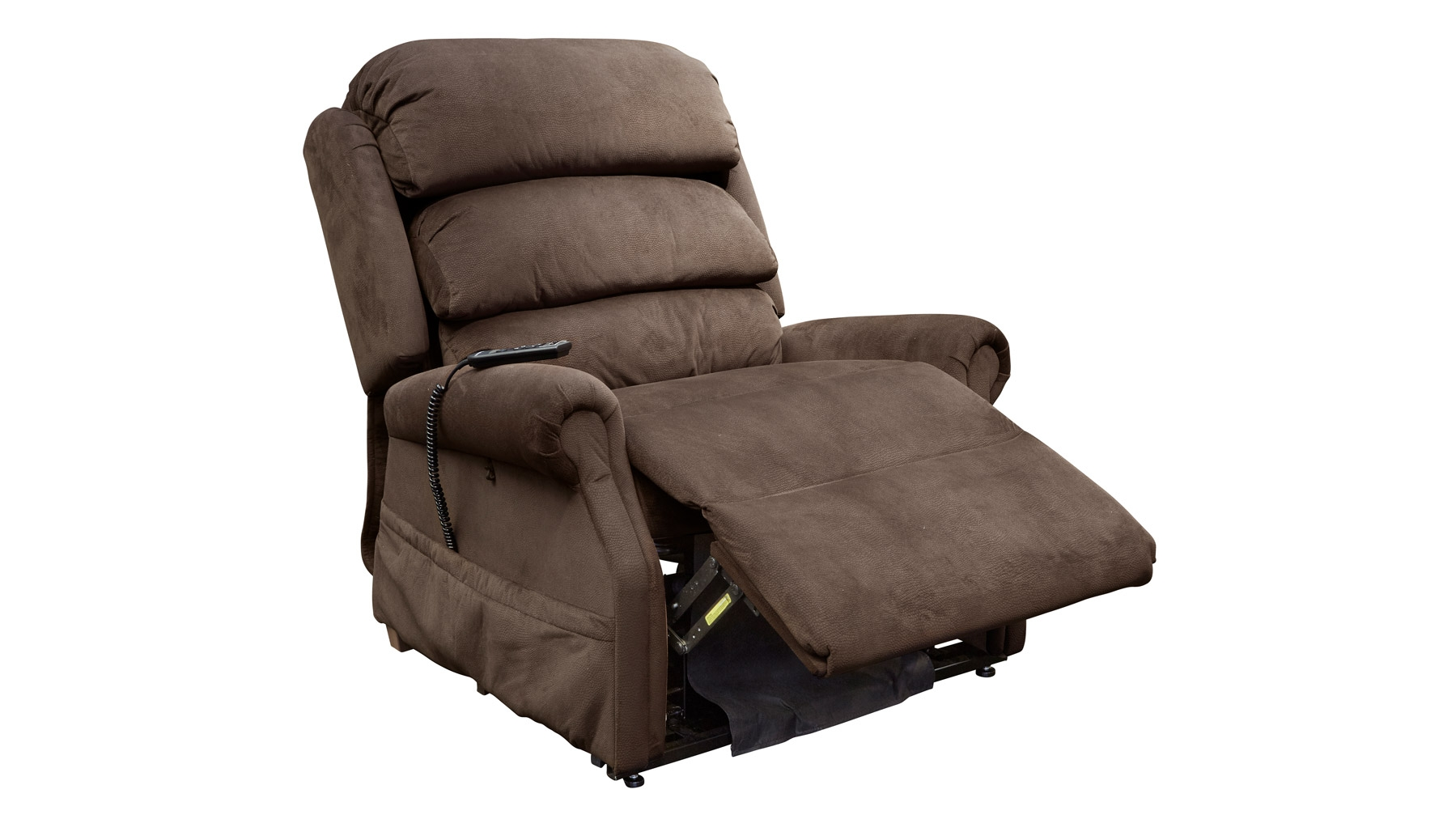 Stellar Comfort Brown Massage and Heat Lift Chair, , hi-res