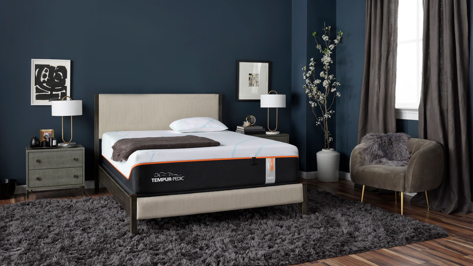 Twin XL Size Tempur-Pedic Luxe Adapt Firm Mattress, , hi-res