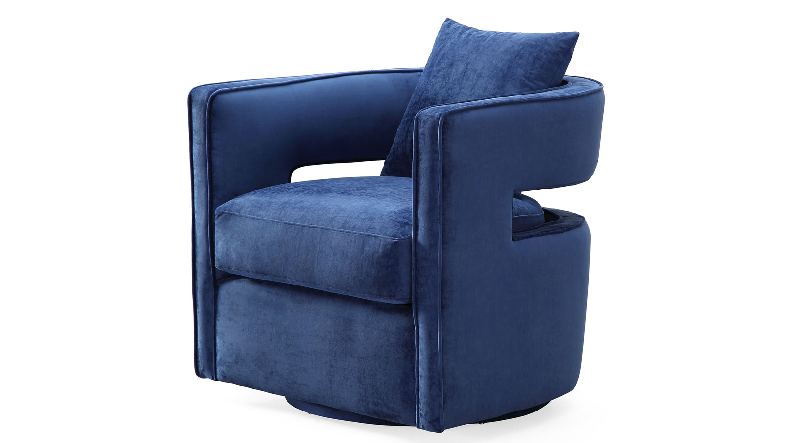 Kennedy Navy Swivel Chair, , hi-res