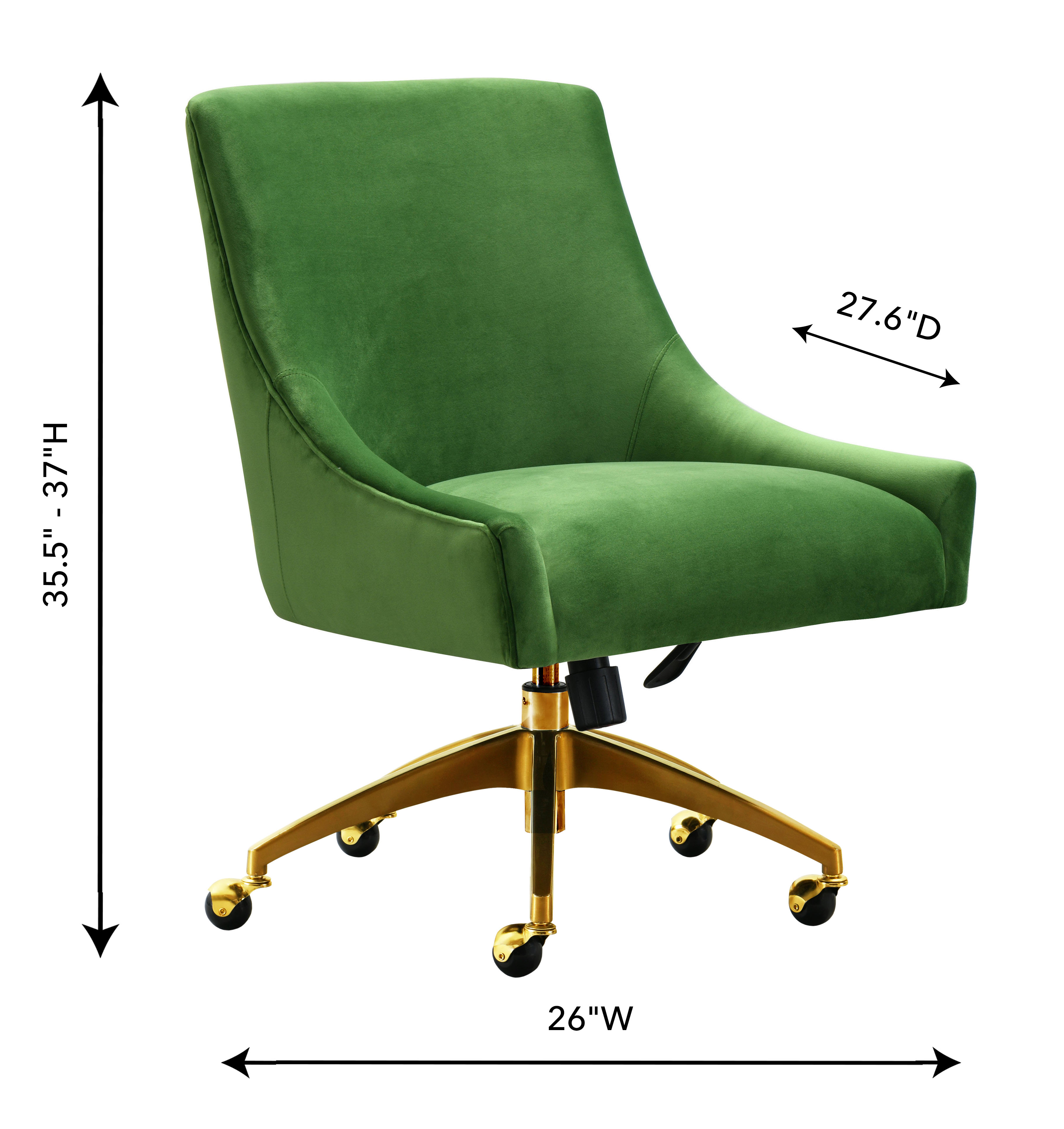 Beatrix Green Office Swivel Chair, , hi-res