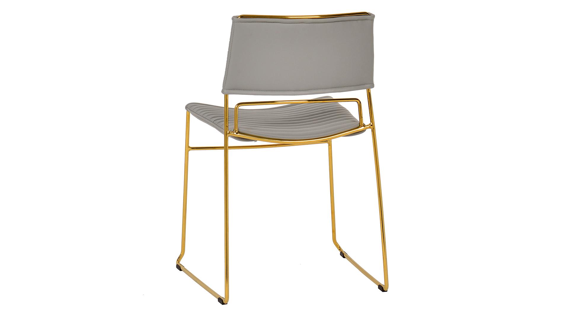 Domani Grey Vegan Leather Chair (Set of 2), , hi-res