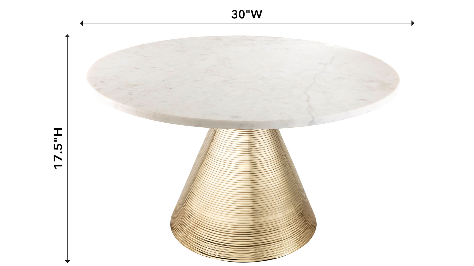 Tempo Marble Cocktail Table, , hi-res