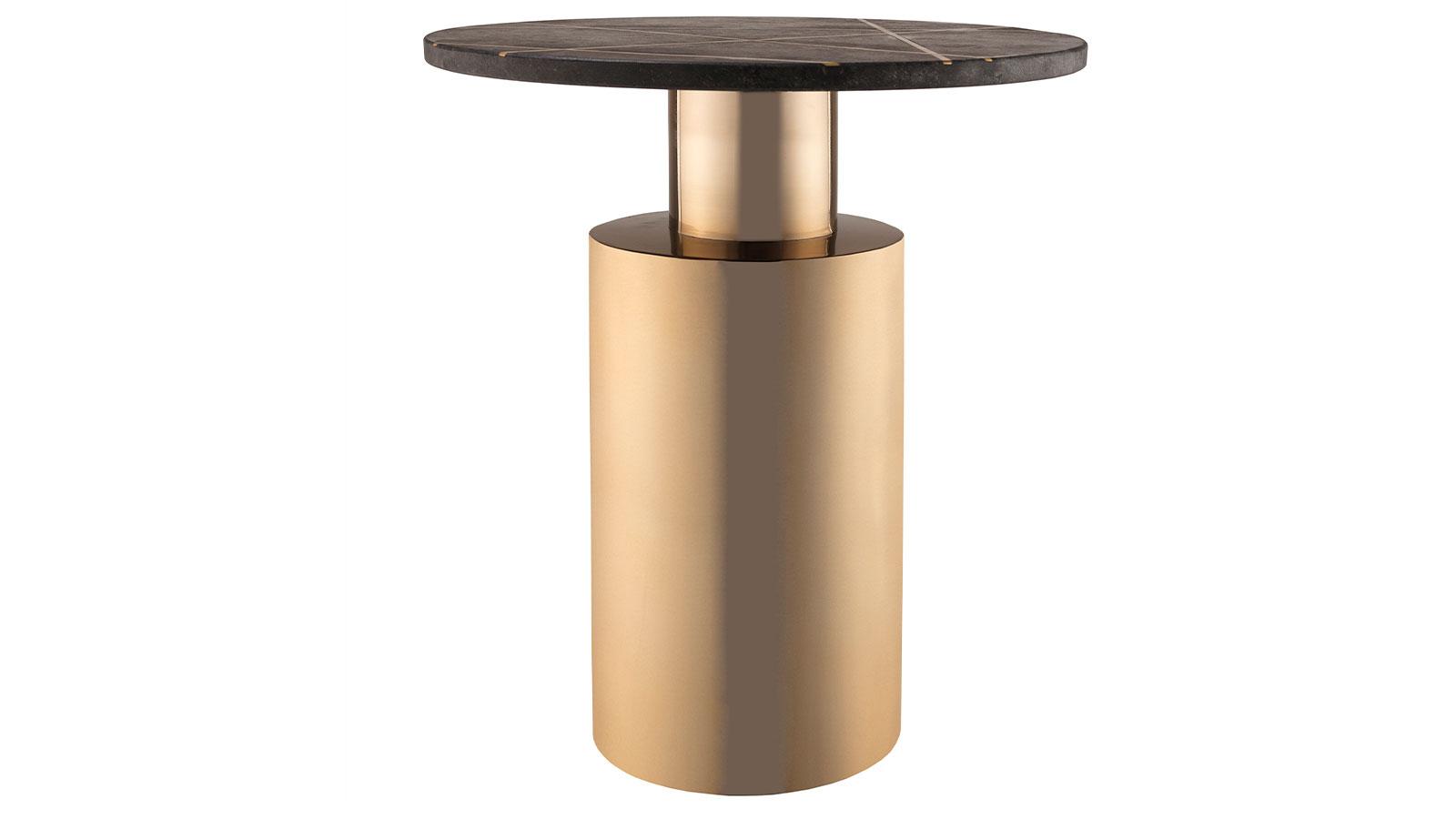 Terzo Black Marble Side Table, , hi-res