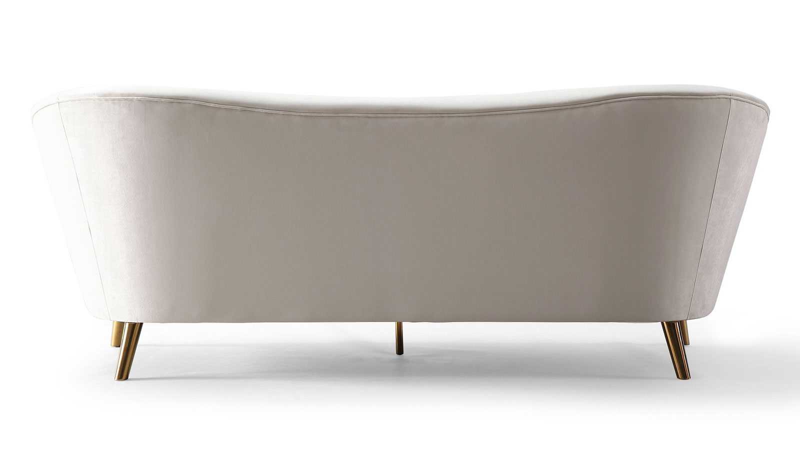 Chloe Cream Velvet Sofa, , hi-res