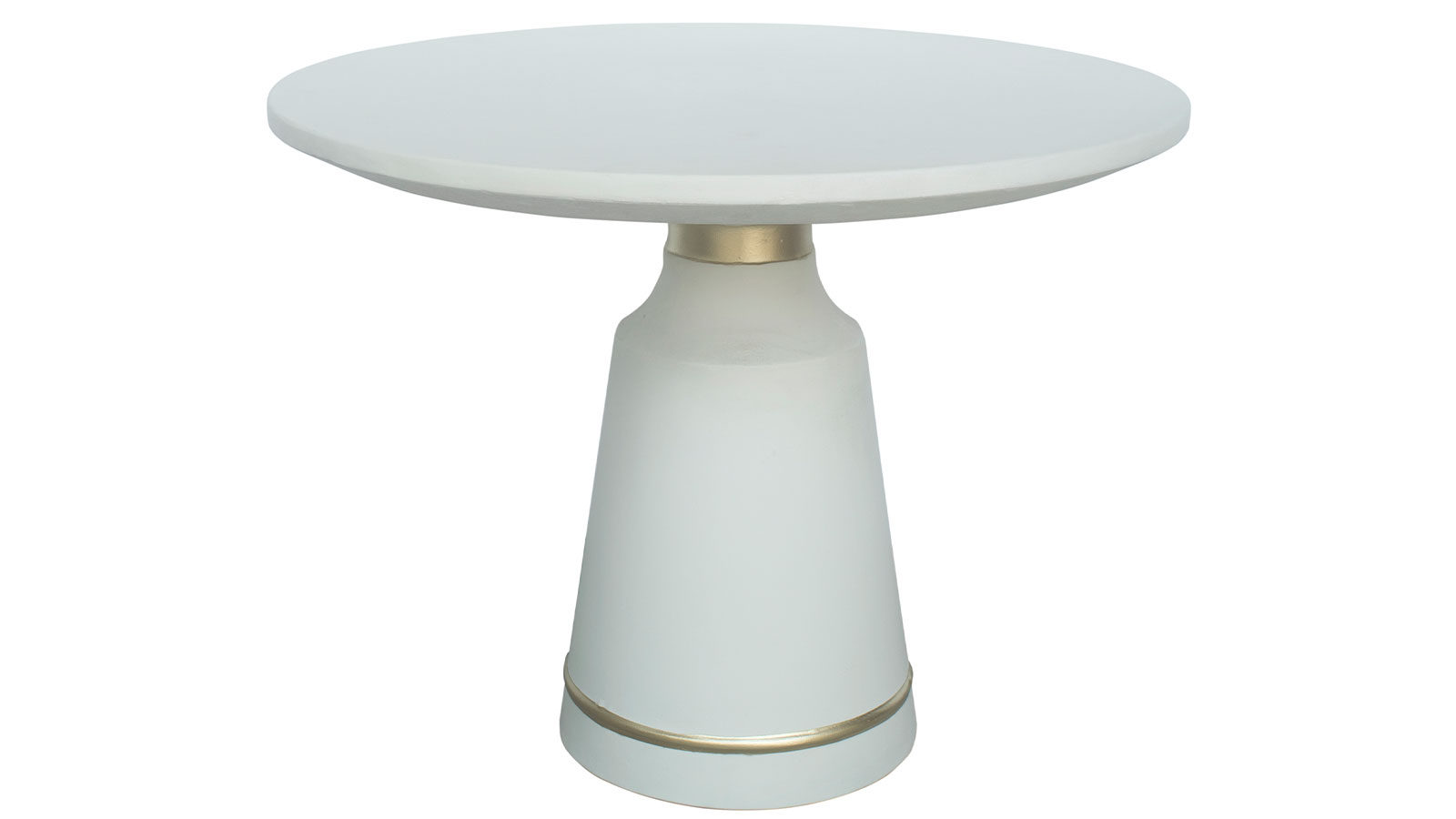 Dumbo White Concrete Dining Table, , hi-res