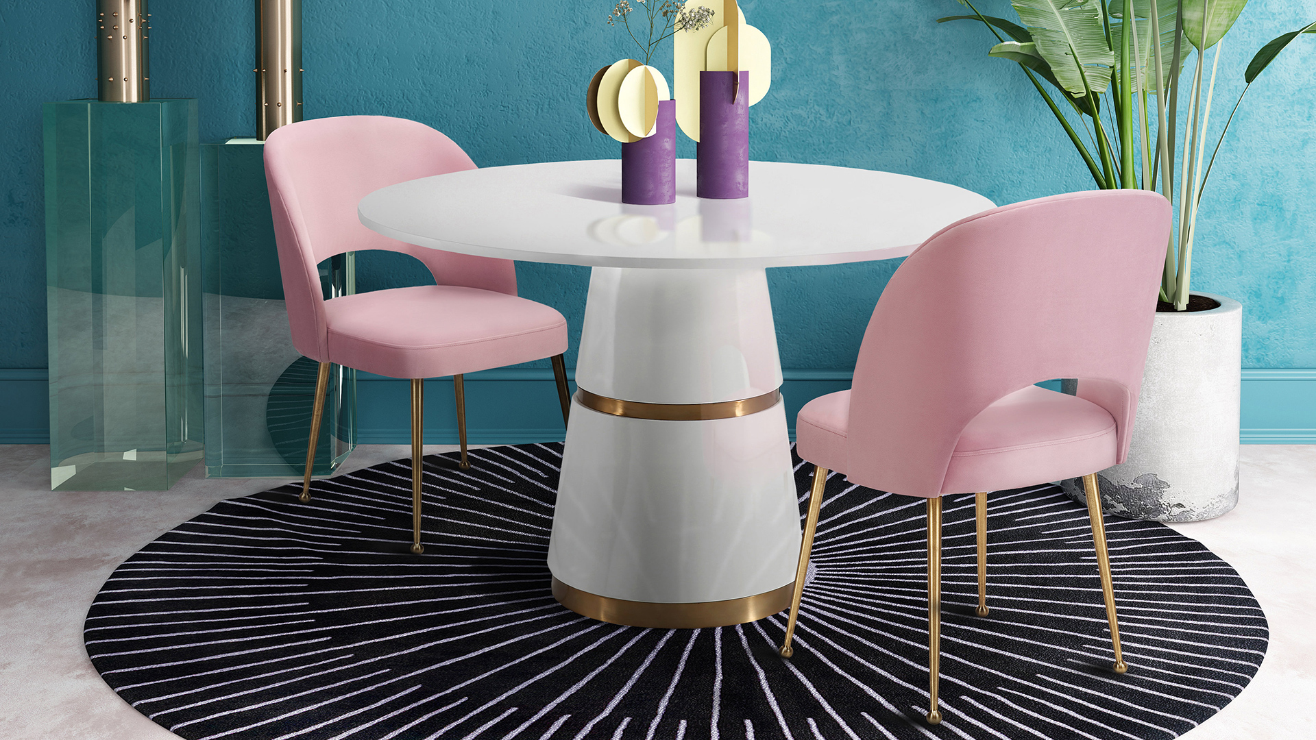 Rosa Dining Table, , hi-res