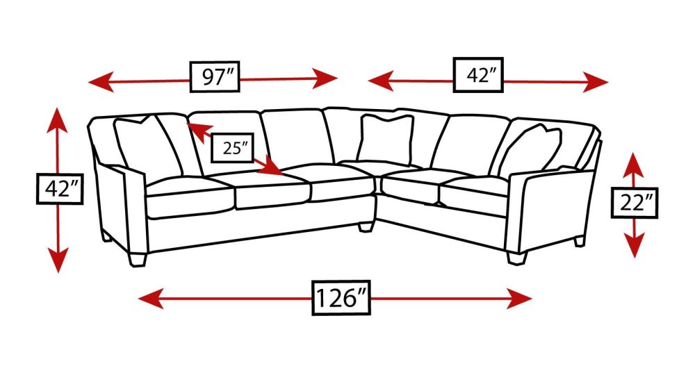 Cream Chenille Sectional, , hi-res