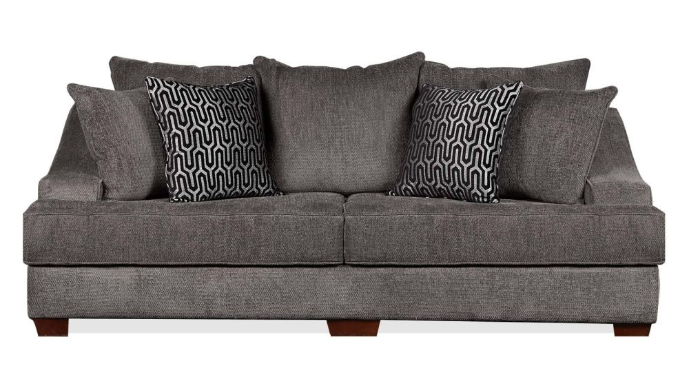 Kyle Charcoal Sofa, , hi-res