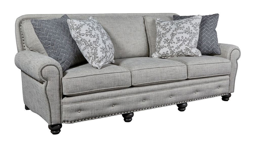 Superior Grey Sofa, , hi-res