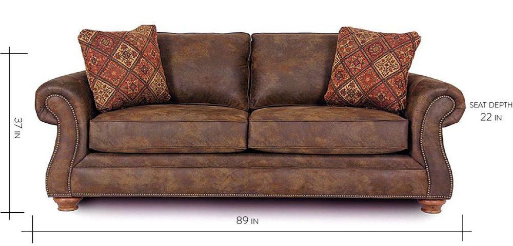 Delicieux Texas Brown Queen Sleeper Sofa, , Hi Res