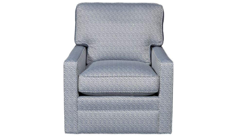 Pennline Blue Swivel Chair, , hi-res