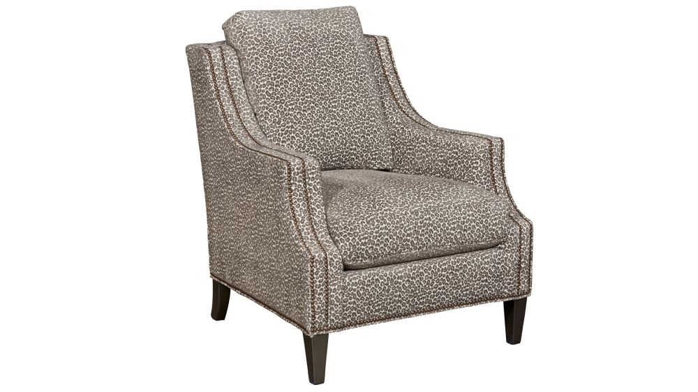 Hutton Mocha Accent Chair, , hi-res