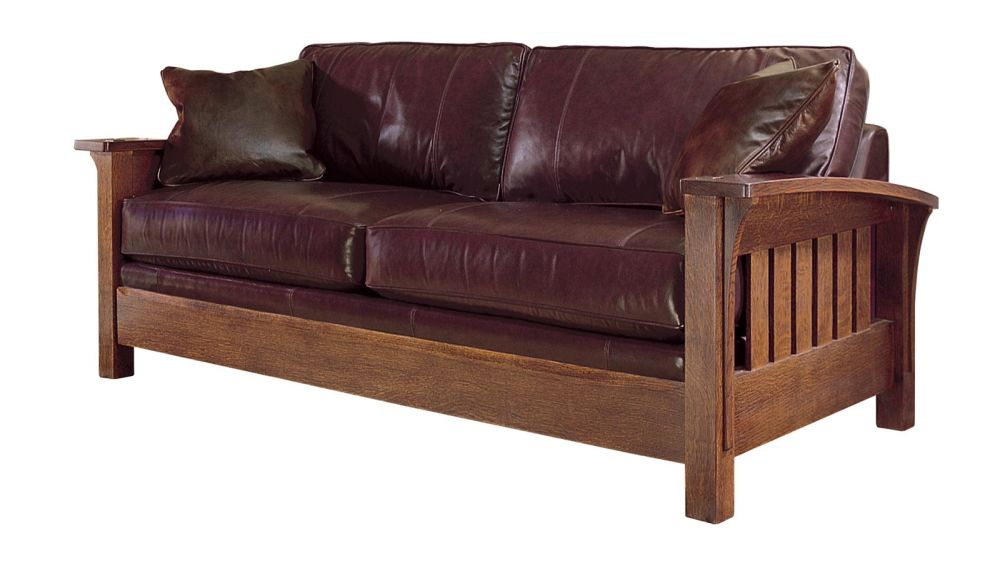 Stickley Orchard Street Leather Sofa, , hi-res