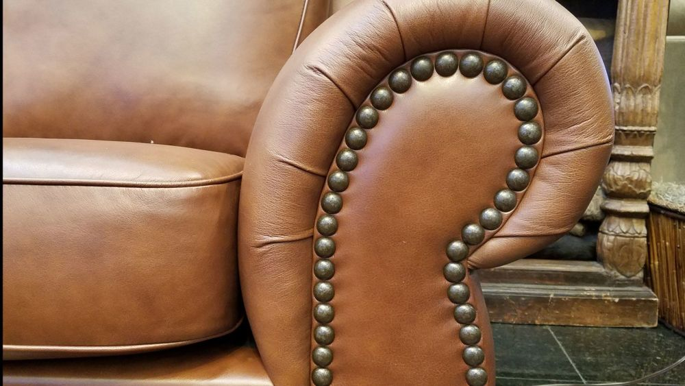 Carnegie Maple Leather Sofa, , hi-res