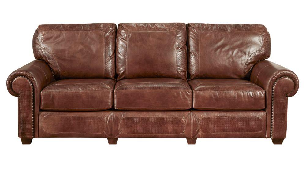 Stickley Santa Fe Stetson Leather Sofa