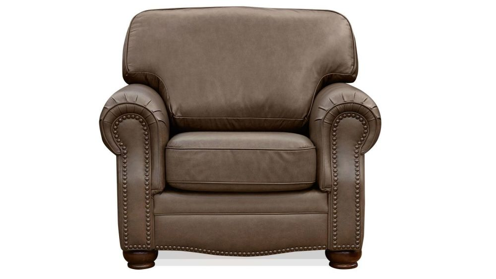 Round Rock Leather Chair, , hi-res