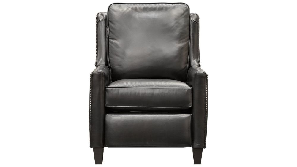Royal Oaks Black Leather Recliner, , hi-res