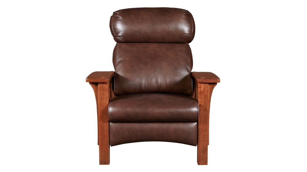 Stickley Morris Bow Recliner, , hi-res