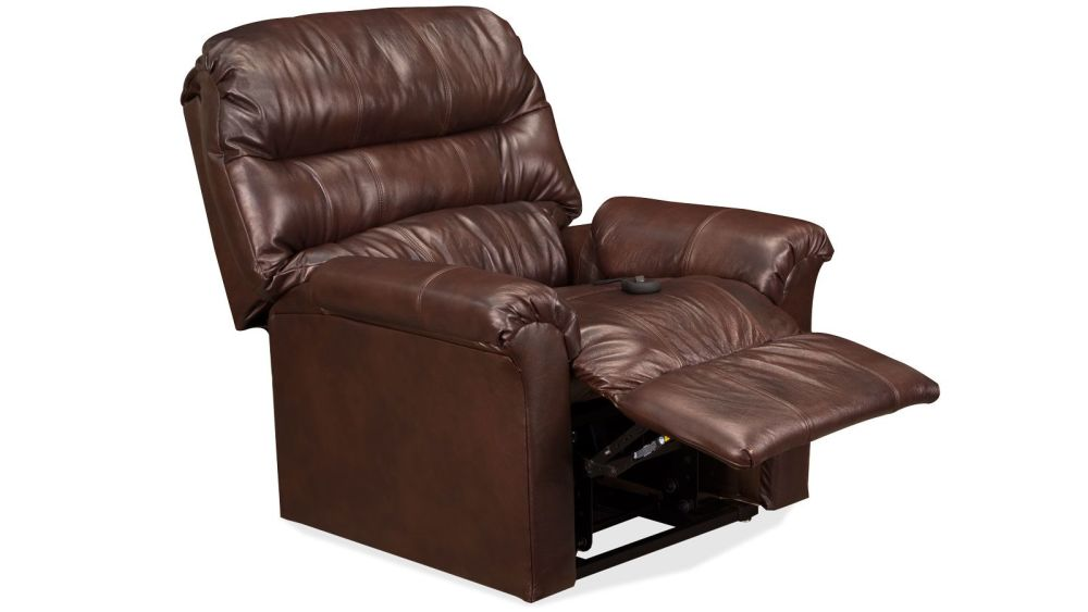 Brown Leather Match Lift Chair, , hi-res