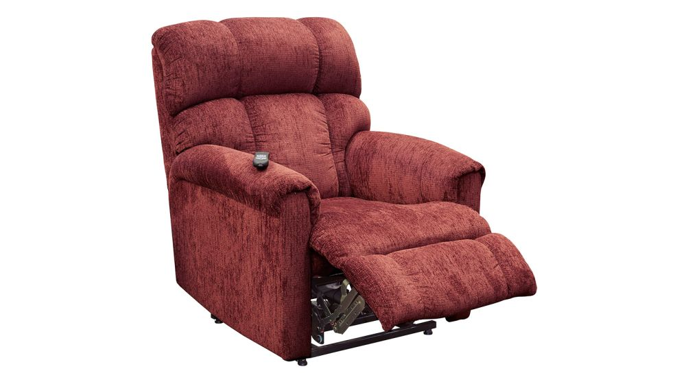Norton Wine Power Lift Chair, , hi-res