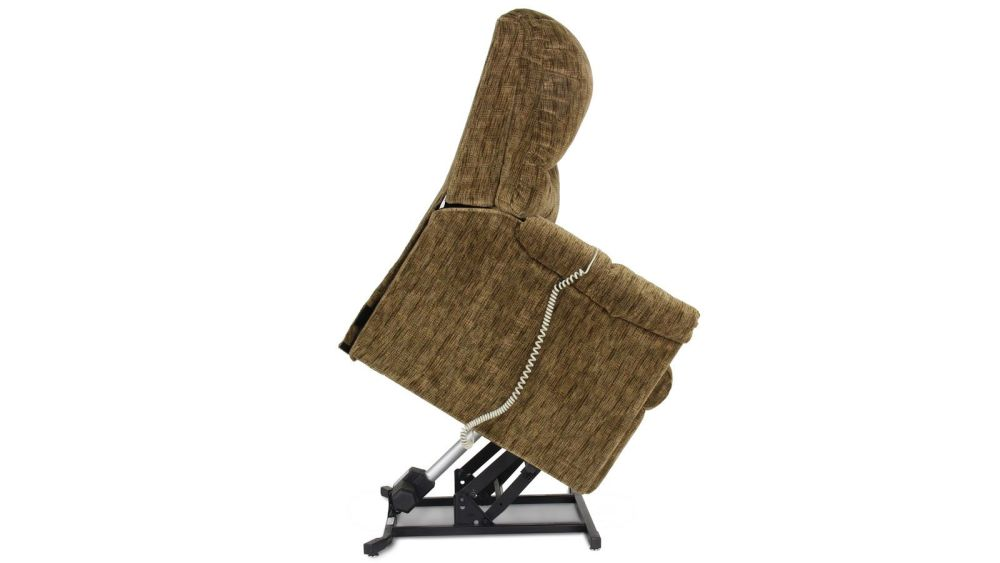 Brown Power Lift Chair, , hi-res