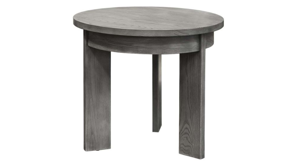 Stickley Modern Loft Round End Table, , hi-res
