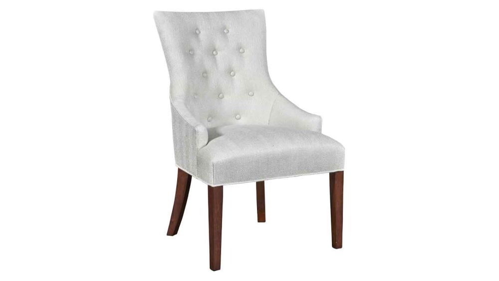 Stickley Manchester Hostess Chair in Pearl White, , hi-res