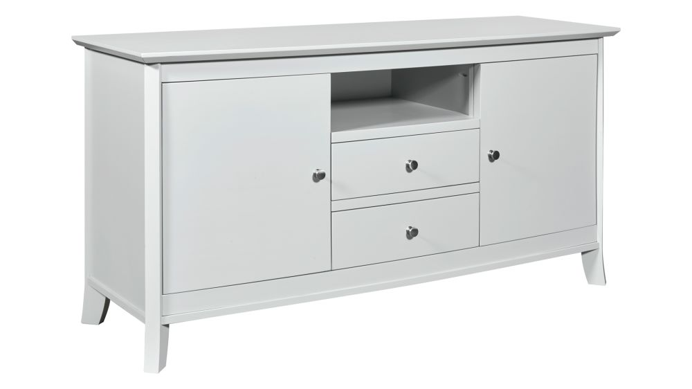 "Laurel Grey 60"" TV Stand, , hi-res"