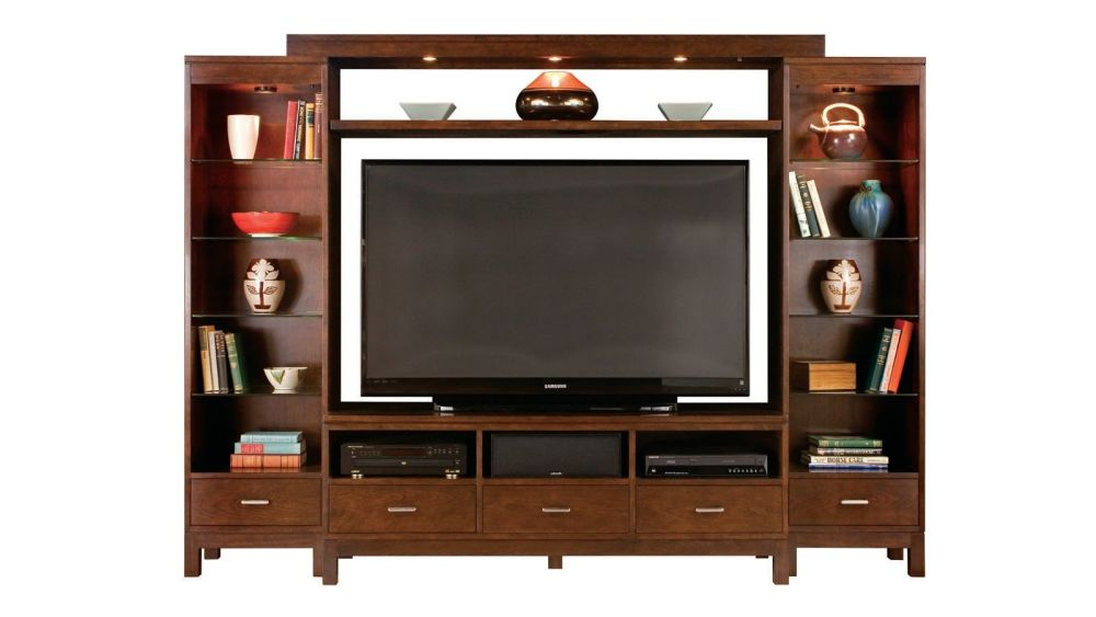 Stickley High Line Entertainment Wall, , hi-res
