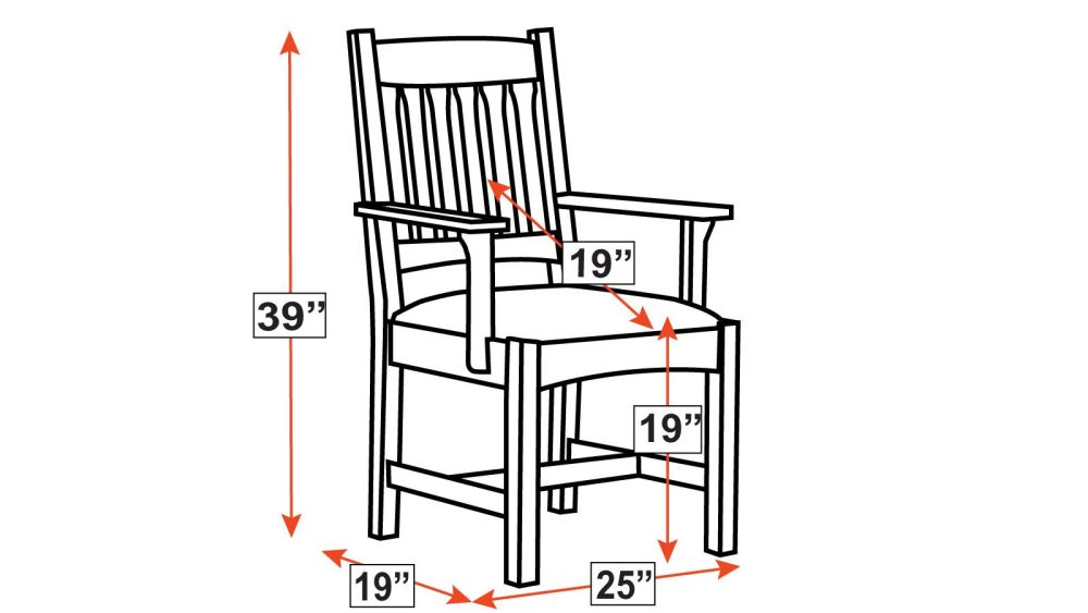 Stickley Cottage Arm Chair, , hi-res