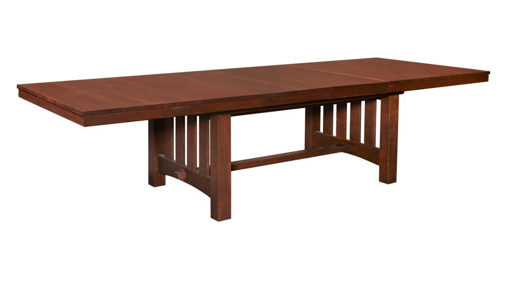 Mission Manlius Oak Dining Table, , hi-res
