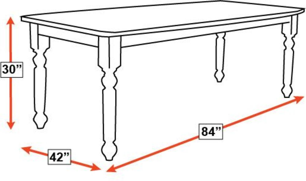 Running Water Cherry Dining Table, , hi-res