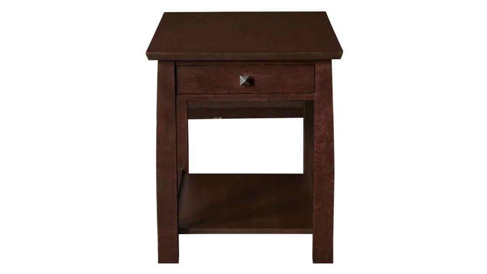 Stickley 1 Drawer Rectangle End Table