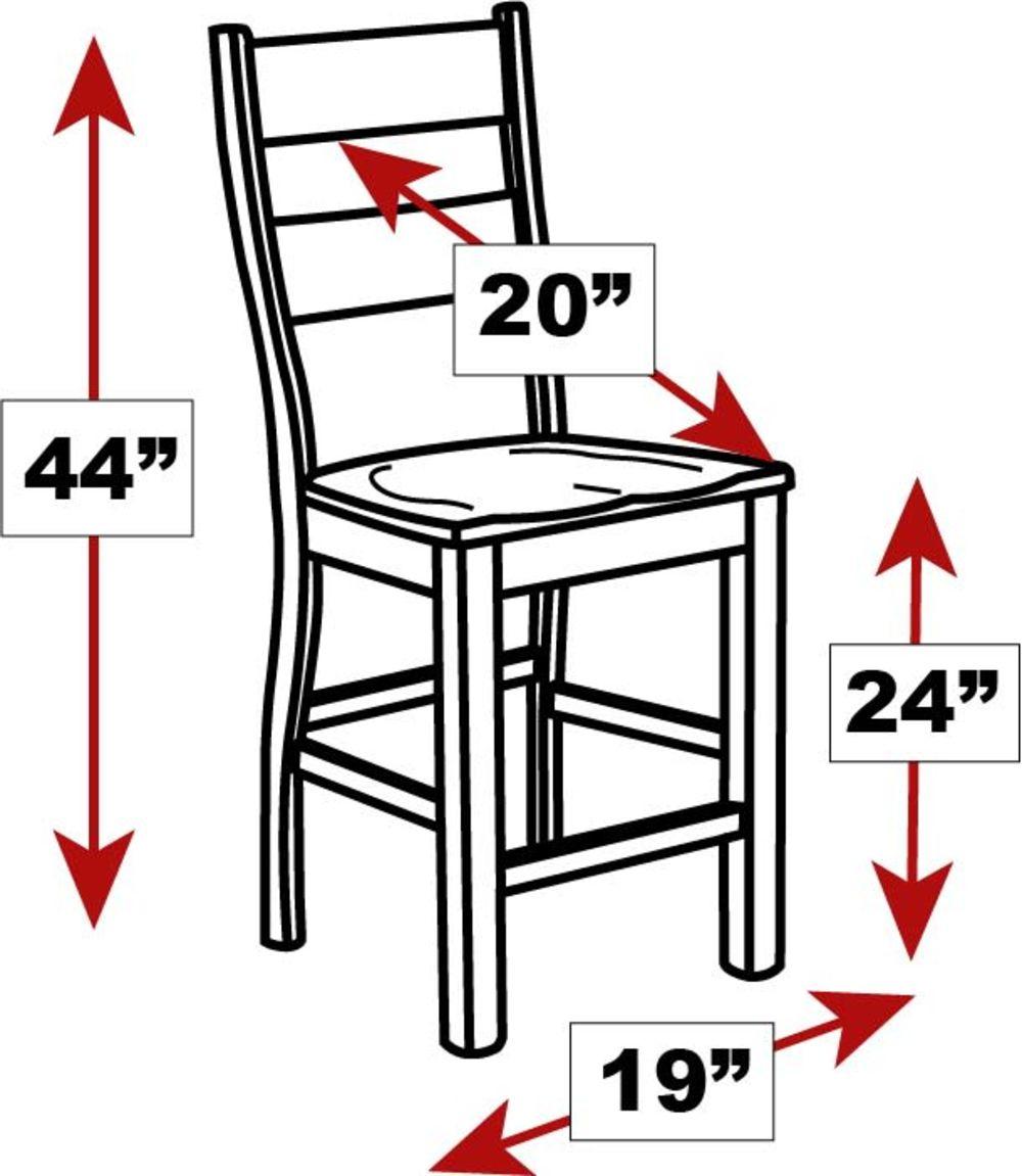 "Hidalgo 24"" Counter Chair, , hi-res"