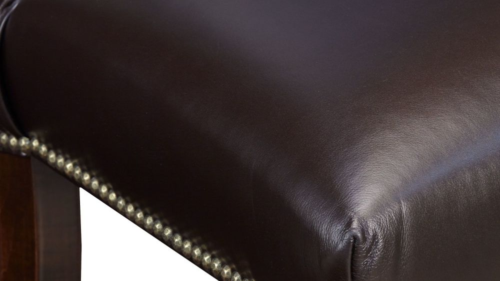 Round Rock Leather Counter Chair, , hi-res