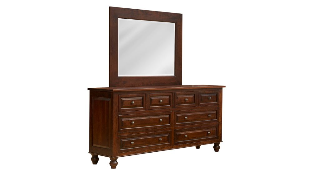 Rustic Cherry Dresser and Mirror, , hi-res