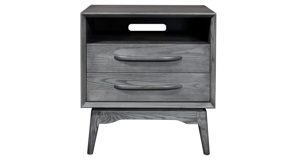 Stickley Midtown Modern Fieldstone 2-Drawer Nightstand, , hi-res